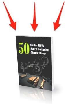 guitar riff tutorial