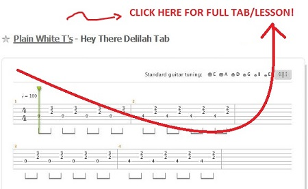 "HOW TO PLAY ""HEY THERE DELILAH"" 
