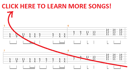 song 2 guitar tab