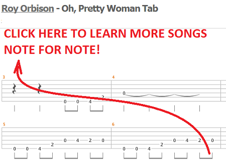 how to play oh pretty woman